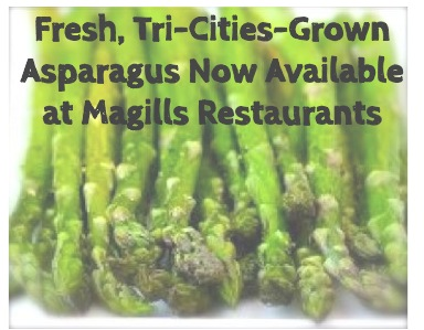 Fresh Asparagus at Magills