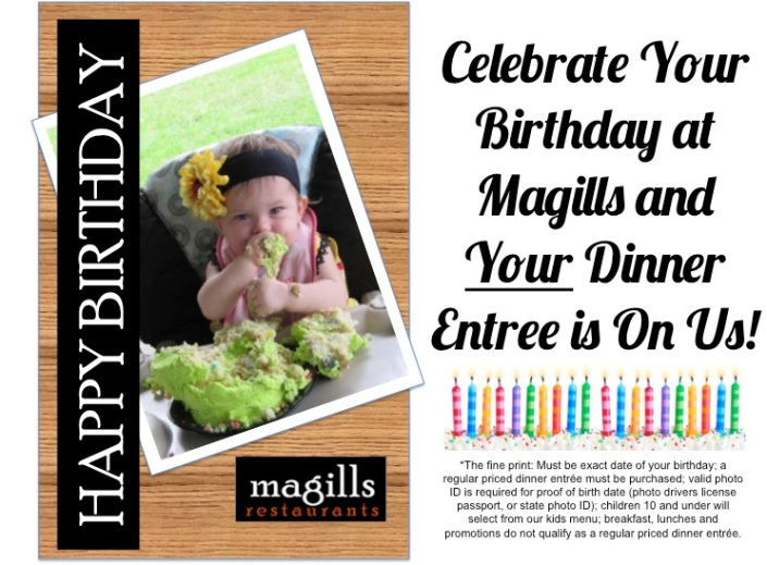 Birthday Promotion Post Card