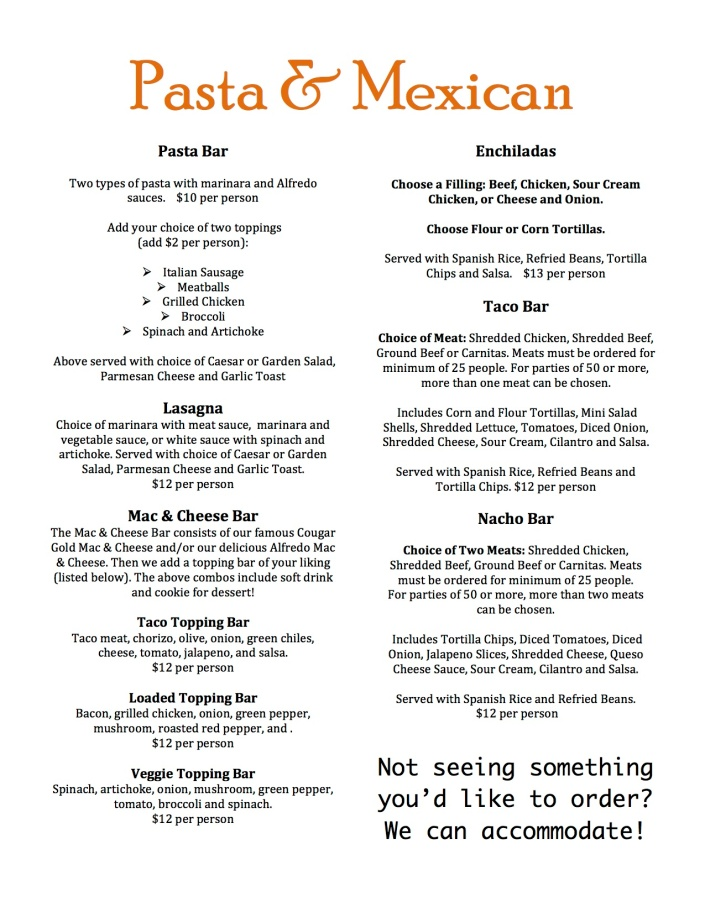 Casual Lunch and Dinner Pg 4 F613