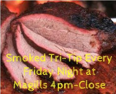 Smoked Tri-Tip Tonight at Pasco Magills!