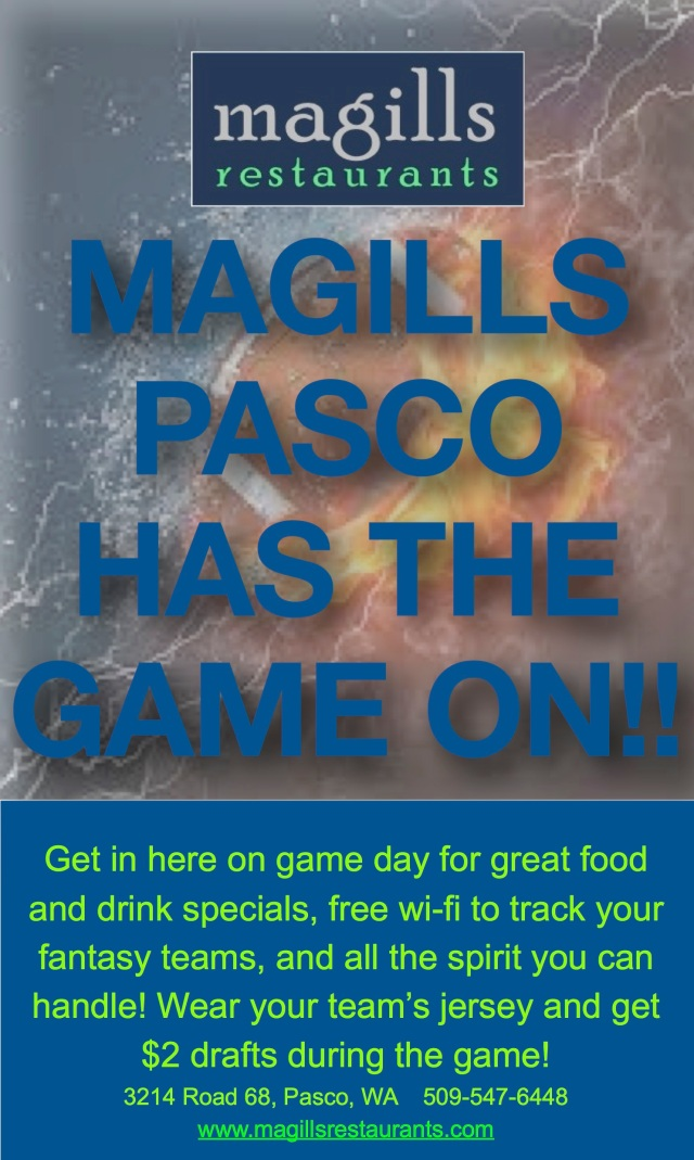 Magills Pasco Has the Football Game ON!
