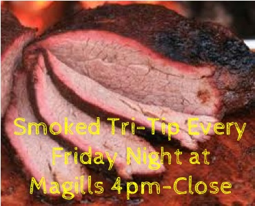 Smoked Tri-Tip Every Friday Night