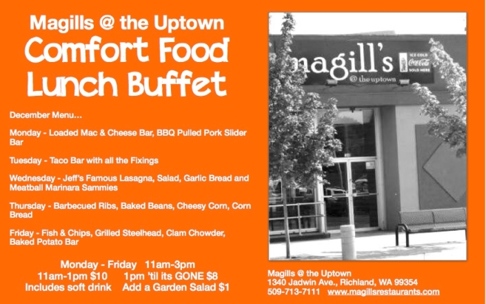UPTOWN LUNCH BUFFET DEC 2013