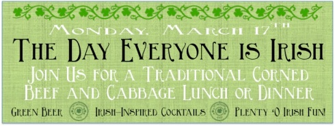 Saint Patricks Day at Magills Restaurant