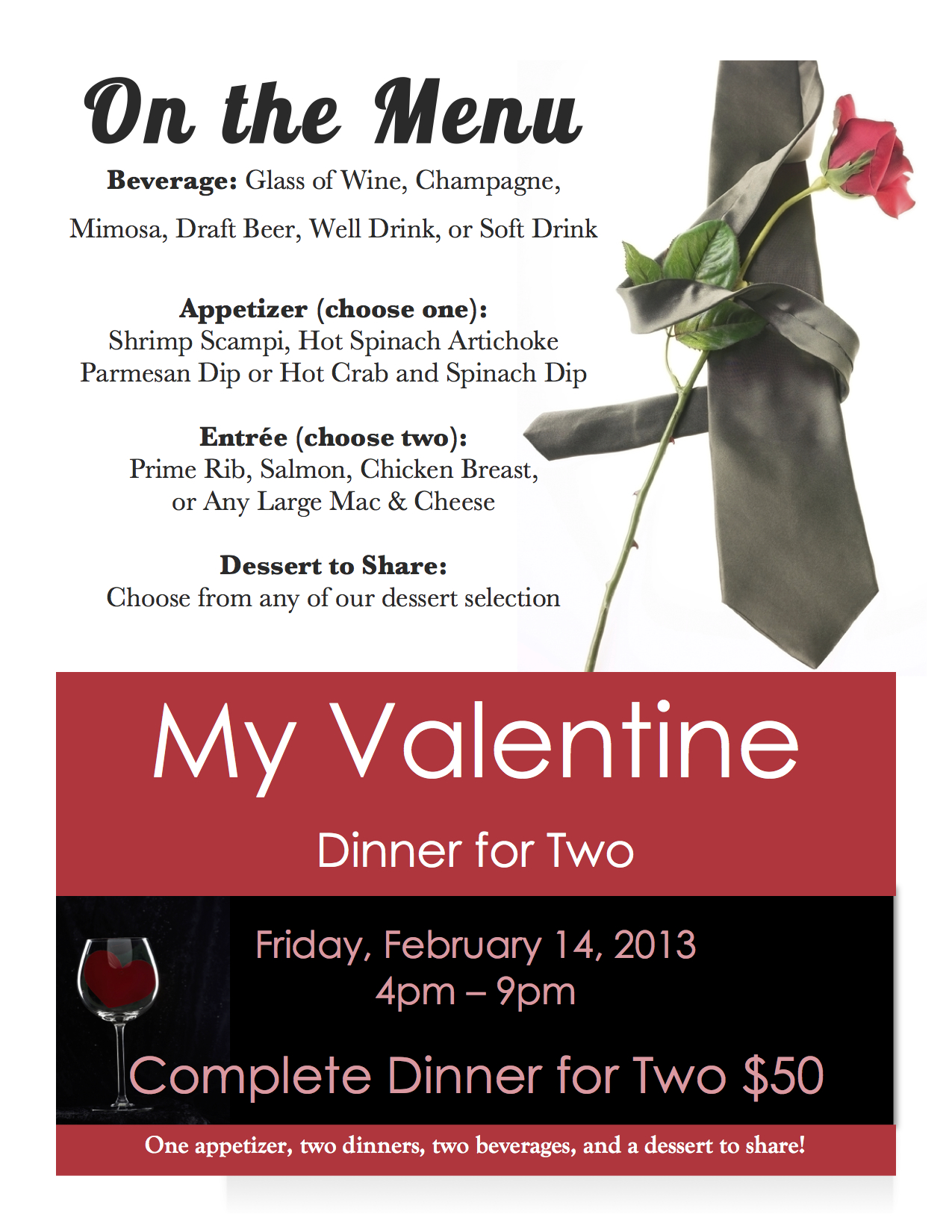 valentines day special 2014 « magills restaurant & catering, Ideas