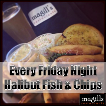 Friday is Fish Day at Magills!