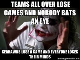 hawks lose their minds